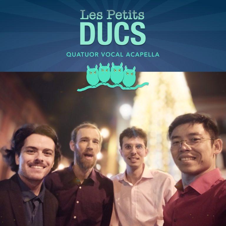 Photo des Petits Ducs (Nicolas, Pascal, Jérémie, Billy)